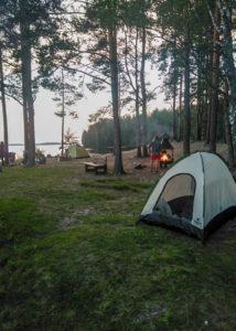 16-28 июля 2019 || Велошенген Коли - Рованиеми Палатки до полярного круга!
