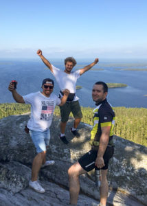 16-28 июля 2019    Велошенген Коли - Рованиеми Палатки до полярного круга!