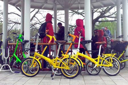 Велошенген прокат велосипедов