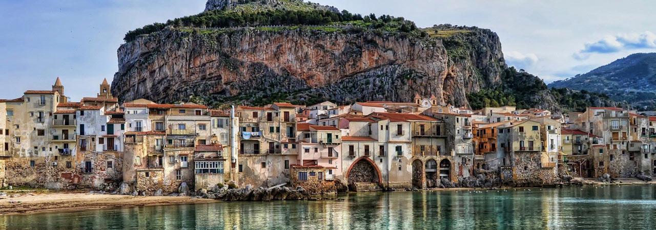 Италия - Сицилия: весенний Велошенген